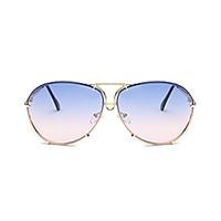 Kính râm thời trang cổ điển gọng kim loại, Tròng kính chống tia UV400,chất lượng cao