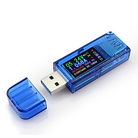 RUIDENG AT34 USB3.0 IPS HD Color Screen USB Tester Voltage Current Capacity Energy Power Equivalent Impedance Temperature Tester