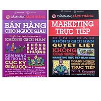 Combo 2 quyển sách bán hàng hay ,Marketing trực tiếp + Bán hàng cho người giàu