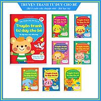 Truyện tranh tư duy cho bé - Bộ 8 cuốn cho bé tập đọc, học điều hay - Những câu chuyện dạy con luôn ngoan ngoãn, vâng lời cha mẹ 1+