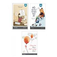 Combo 3 Cuốn Kỹ Năng Sống Đẹp: Nâng Lên Được, Đặt Xuống Được + Mệt Quá À? Quẳng Hết Đi! + Đừng Cười Để Vừa Lòng Người - Tặng kèm bookmark Phương Đông Books