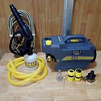 máy xịt rửa xe gia đình lõi dây đồng có chĩnh áp - công suất 2400w tặng bình tạo bọt tuyết