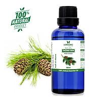 Tinh dầu gỗ thông đen Lorganic Pine black 50ml/ Hương thơm ấm nồng/ Tinh dầu thiên nhiên nguyên chất xông phòng/ Thư giãn tinh thần/ Thích hợp dùng với đèn xông và máy khuếch tán.