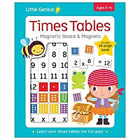 Little Genius Times Table - Magnetic Board & Magnets