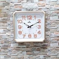 Đồng hồ Eastar  Vuông vát góc, Máy kim trôi, có Dạ quang (*)