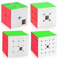 Combo 4 Rubik MoFangJiaoShi Gift Stickerless