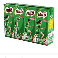 [Chỉ giao HCM] Thực phẩm bổ sung sữa lúa mạch Milo lốc 4x180ml -3128553