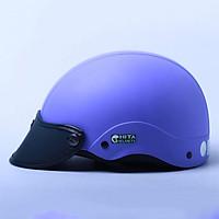 Mũ Bảo Hiểm 1/2 Chita - Tím Nhạt Sơn Mờ (Size M)