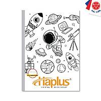 Lốc 10 quyển Vở kẻ ngang có chấm Haplus - Chill (80 trang) (Giao hình ngẫu nhiên)