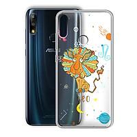 Ốp lưng In Nổi Họa Tiết cho điện thoại Zenfone Max Pro M2 - 01219 8041 LEO 01 - Cung Sử Tử - Silicone Dẻo - Hàng Chính Hãng