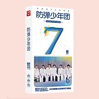 Hộp ảnh postcard BTS map of the soul 7 có kèm sticker BTS
