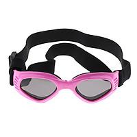 Pet Dog Doggy Sunglasses Toys Eye Wear Goggle Sun Glasses Adjustable Strap