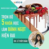 """Trọn bộ 5 khóa học """"Làm bánh sinh nhật và các loại bánh ngọt"""" [UNICA.VN"""