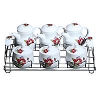 Bộ gia vị 6 món sứ Ceramic Porcelain E524