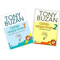 Combo Tony Buzan Cải thiện năng lực trí não 1+ 2 (Phương pháp tư duy & kích hoạt trí não + Duy trì năng lực não bộ)