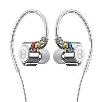 TRN TA1 In Ear Earphone 1BA+1DD Dual Hybrid Driver HIFI Earphone Metal Headphone Earbud With Detachable MMCX