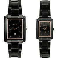 Đồng hồ cặp tình nhân Neos N-30856 dây thép sapphire
