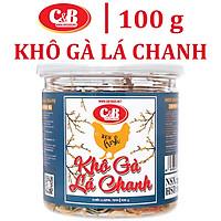 Khô Gà Lá Chanh C&B Hộp 100 Gram