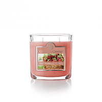Nến ly oval hương Fresh Strawberry Rhubarb Colonial Candle (hương dâu tây)