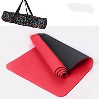 Thảm Tập Yoga TPE 2 Lớp Có Kèm Túi Đựng Tiện Lợi