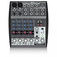 Bộ trộn âm thanh analog 8 đầu vào Behringer XENYX 802 Premium - Hàng Nhập Khẩu