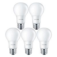 Bộ 6 Bóng Đèn Philips LED Ledbulb 10.5W 3000K E27 A60 - Ánh Sáng Vàng - Hàng Chính Hãng