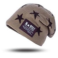 Mũ len, nón len trùm đầu NAM NỮ ngôi sao Style A039