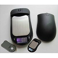 Cân tiểu ly điện tử hình chuột máy tính mini đa năng tải trọng 200g ( Tặng kèm miếng thép để ví đa năng tiện dụng 11in1 )
