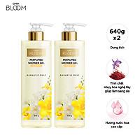Combo 2 Sữa Tắm Nước Hoa Cindy Bloom Romantic Muse 640g/chai