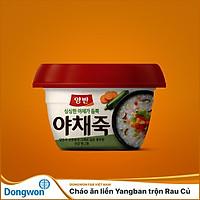Cháo ăn liền Yangban trộn Rau Củ
