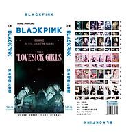 Hộp ảnh Blackpink Lovesick Girls