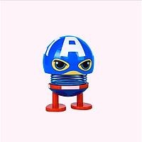 Thú nhún Emoji lò xo siêu anh hùng- siêu đội trưởng