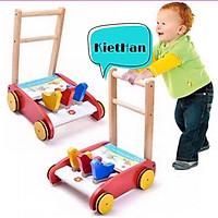 Xe gỗ tập đi cho bé - HÀNG ĐẸP