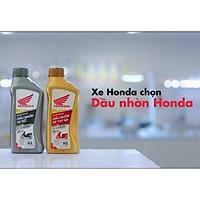 Dầu nhớt xe số Honda chính hãng có tem chống hàng giả