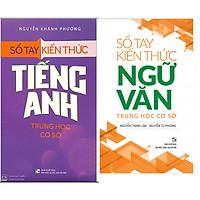 Combo Sổ Tay Kiến Thức  Trung Học Cơ Sở Môn Văn+ Tiếng Anh