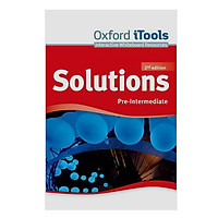 Solutions (2E) Pre-Intermediate Itools