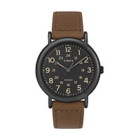 Đồng Hồ Dây Da Nam Timex Weekender 40mm 2-Piece Quick-Release Leather Strap Watch - TW2T30500