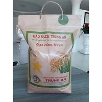 Gạo thơm ST24 [Trung An] - Đạt tiêu chuẩn Global GAP - Túi 5kg