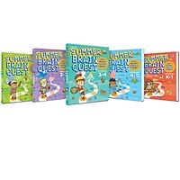 Summer Brain Quest - Sách phát triển tư duy - Genbooks ( Tiếng anh, Bộ 5 cuốn )