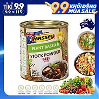 Hạt nêm Massel 100% không bột ngọt 168gr - Vị Bò (Mẫu mới)