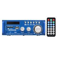 Bộ Thu Âm Thanh Kỹ Thuật Số BT 12v / 220v Amp USB SD Khe Cắm MP3 Cho Máy Nghe Nhạc FM Radio LCD Màn Hình LCD