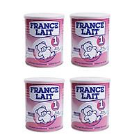 Bộ 4 Lon Sữa bột France Lait 1 (400g)