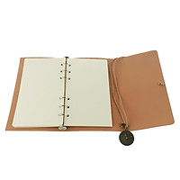 A6 Loose-Leaf Retro Strap Hand Book String Blank Notebook