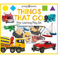 First Learning Play Set: Things That Go (Priddy Books)