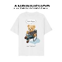 Album 8 - Bst áo thun unisex form đẹp hình gấu chill dễ thương nhiều mẫu để chọn thời trang vải dày mịn mát