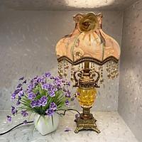 Đèn ngủ - đèn ngủ để bàn tân cổ điển - đèn để bàn giả cổ MB8267 công tắc 2 chế độ