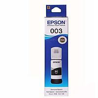 Mực Epson 003 màu đen cho máy  L1110, L3116, L5190, L3150, L3110, L3156 - Hàng chính hãng