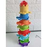 Đồ chơi tắm cao cấp tháp xếp chồng đại dương...