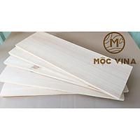 Combo 10 Tấm gỗ thông mới đẹp dài 60cm, rộng 20cm, dày 1.5cm bào láng đẹp 4 mặt thích hợp trang trí, làm kệ, DIY