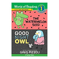 World of Reading Level 1: The Watermelon Seed; Good Night Owl: 2-in-1 Listen-Along Reader